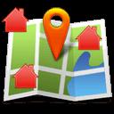 Carte reprenant tous vos biens immobiliers