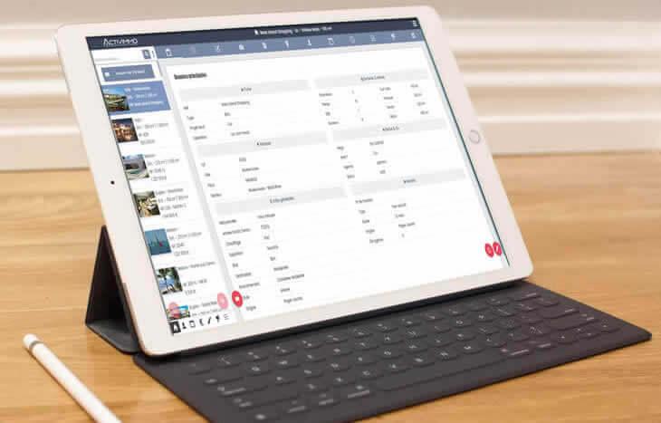 logiciel immobilier sur tablette