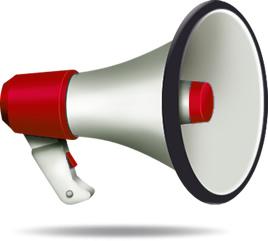 megaphone annonces